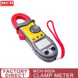 جهاز قياس شدة التيار المتردد الصغير عالي الدقة بجهد V600V من التيار المستمر بجهد كهربائي متردد بجهد V1000V AC C600A بقدرة 40 ميجا أوم MCH-600A