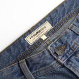 カスタム 100% メーカーコットンプロイスタージーンズズボンパンツメインラベル 販売のため