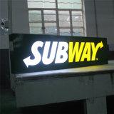 돋을새김 수지 지하철 LED 표시를 형성하는 고품질 진공