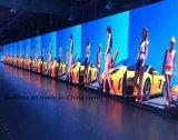 Pleine couleur Outdoor Indoor Location mur vidéo LED plat Affichage courbe P3