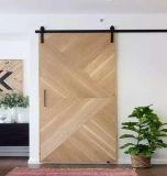 Hotel de alta qualidade vidro corrediço da porta de madeira revestida de HPL Porta de madeira