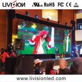 Haut Actualiser P3.91 LED du panneau de l'écran vidéo pour la location de l'événement