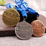Liberare il fornitore personalizzato della medaglia di sport di maratona di prezzi di fabbrica di disegno