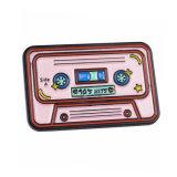 까만 니켈에 의하여 도금되는 분홍색 테이프 연약한 사기질 Pin