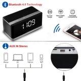 Radio senza fili della sveglia FM della visualizzazione dell'altoparlante V4.0 di Bluetooth