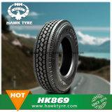 Neumático de Camión Hawkway 1000r20 1100r20 1200r20 para aplicaciones de sobrecarga