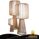 Projet d'hôtel moderne de décoration intérieure de bambou Lampadaire permanent (KAL301-4)