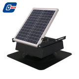 25W operação diurna e nocturna Exaustor Solar com Motor sem escovas DC