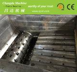 PP PE tubos de PVC ABS Cable Film Single Doble Eje Trituradora de residuos de plástico