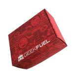 공중 제비 출하에 의하여 인쇄된 골판지 상자 매트는 박판으로 만들었다
