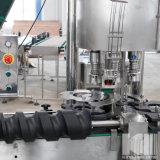 Automatischer linearer Typ Saft-waschende füllende mit einer Kappe bedeckende Maschine