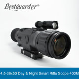 Bestguarder 4.5-22.5X50 Low-Light Riflescope 400m de vision de nuit de prendre des photos & Vidéo