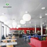 Matériaux décoratifs en aluminium résistant au feu plafond avec la norme ISO9001