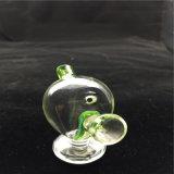 Vidrio de borosilicato de alta marciano botella lavagases para fumar los pequeños tubos de agua