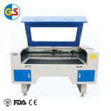 Лазерная гравировка и режущие машины GS1490 80W с ПЗС-камера для ткани
