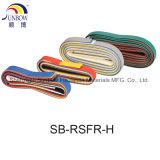 125 El grado de aislamiento de cable retardante de llama tubo termocontraíble