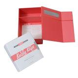 Pas het Vakje van de Gift van het Document met Magnatic en Kleurendruk aan Beide Kanten voor de Verpakking van de Vertoning aan