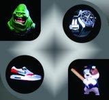 Affichage LED holographique ventilateur pour l'intérieur de l'équipement de la publicité