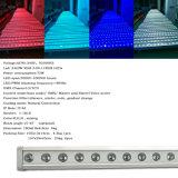 屋外の18/24/36 PCS IP65 LED 3in1/4in1は壁の洗濯機の段階ライトを防水する