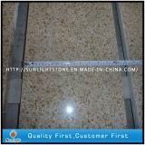 Prateleiras / escadas de pedra de granito amarelo oxidado natural polido G682