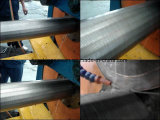 Filtro del tubo de la ranura de la pantalla del producto de agua de Johnson/del alambre de la cuña mini/filtro para pozos continuos del agua