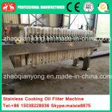 Máquina hidráulica pequena para filtro de óleo de placa e moldura