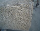 Pele Tiger Yellow Granite Countertops com Bullnose Edge