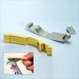 Memoria del bastone del USB apri di bottiglia del metallo con piena capacità