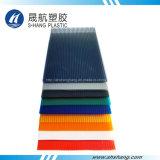 Panneau de mur coloré de jumeau de polycarbonate avec la protection 50um UV