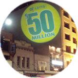 Preço por atacado Customized 80W LED Six Images Publicidade Gobo Projector