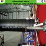 Трубы водопровода замотки впалости PE HDPE машинное оборудование пластичной прессуя