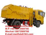 Dongfeng Compacteur de connexion 4X2 Camion Poubelle