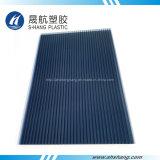 Colorido Panel de pared doble de policarbonato con protección UV 50 um
