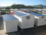 Простая установка контейнера дом /сегменте панельного домостроения в доме