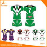 Vêtement 2017 en gros du Jersey de rugby de chemise de personnalisation d'Unifroms de rugby