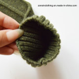 Verbundene gestrickte Pullover-warme Strickjacke