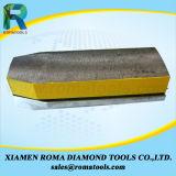 접착되는 금속과 길이 140mm를 가진 Romatools 모래 100# 다이아몬드 Fickerts
