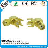 Connecteur coaxial de connecteurs de SMA Kwhd1300 pour le connecteur de SMA