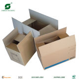 Rectángulo de empaquetado del cartón de encargo para el envío