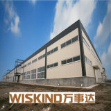 Sgs-helles Stahlkonstruktion-Gebäude für Lager fabriziertes Material