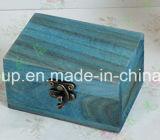 Boîte à affichage en bois rétro élégante et élégante en taille personnalisée