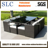 Mobilia esterna del rattan del blocco per grafici di alluminio (SC-A7199)