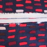 Tissus artificiels en rayons à fibre artificielle pour chemises imprimées Vêtements pour femmes
