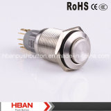 Hban New 16mm Drukknop Switch