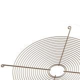 Una buena calidad del ventilador recubierto de PVC de rejilla de protección de acero el protector del ventilador