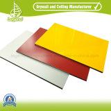 Norma ISO PE e revestido de PVDF preço do painel composto de alumínio