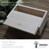 Rectángulo de madera de Hongdao, rectángulo de madera por encargo con el _D de acrílico de la tapa