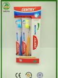 Tansparent Hanldes Kasten Pakcing erwachsene Zahnbürste-heiße Verkäufe