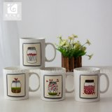 Förderung-neues Porzellan-Tee-Cup 12oz mit eigenem Firmenzeichen