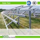Profilo di alluminio di sostegno certo dei fornitori della Cina per il sistema del montaggio di comitato solare